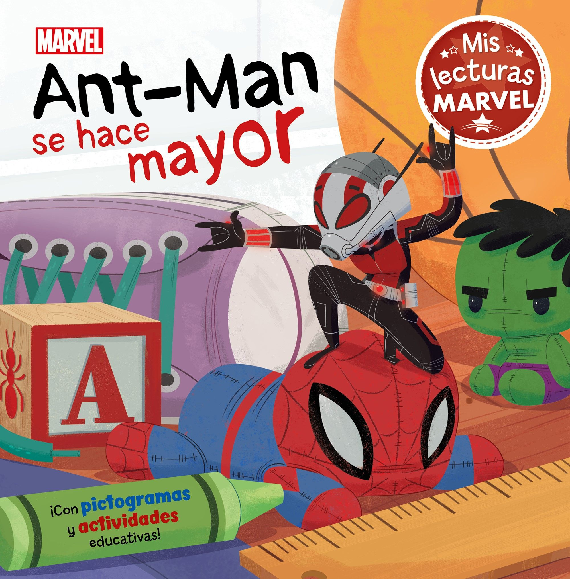 ANT MAN SE HACE MAYOR MIS LECTURAS MARVEL