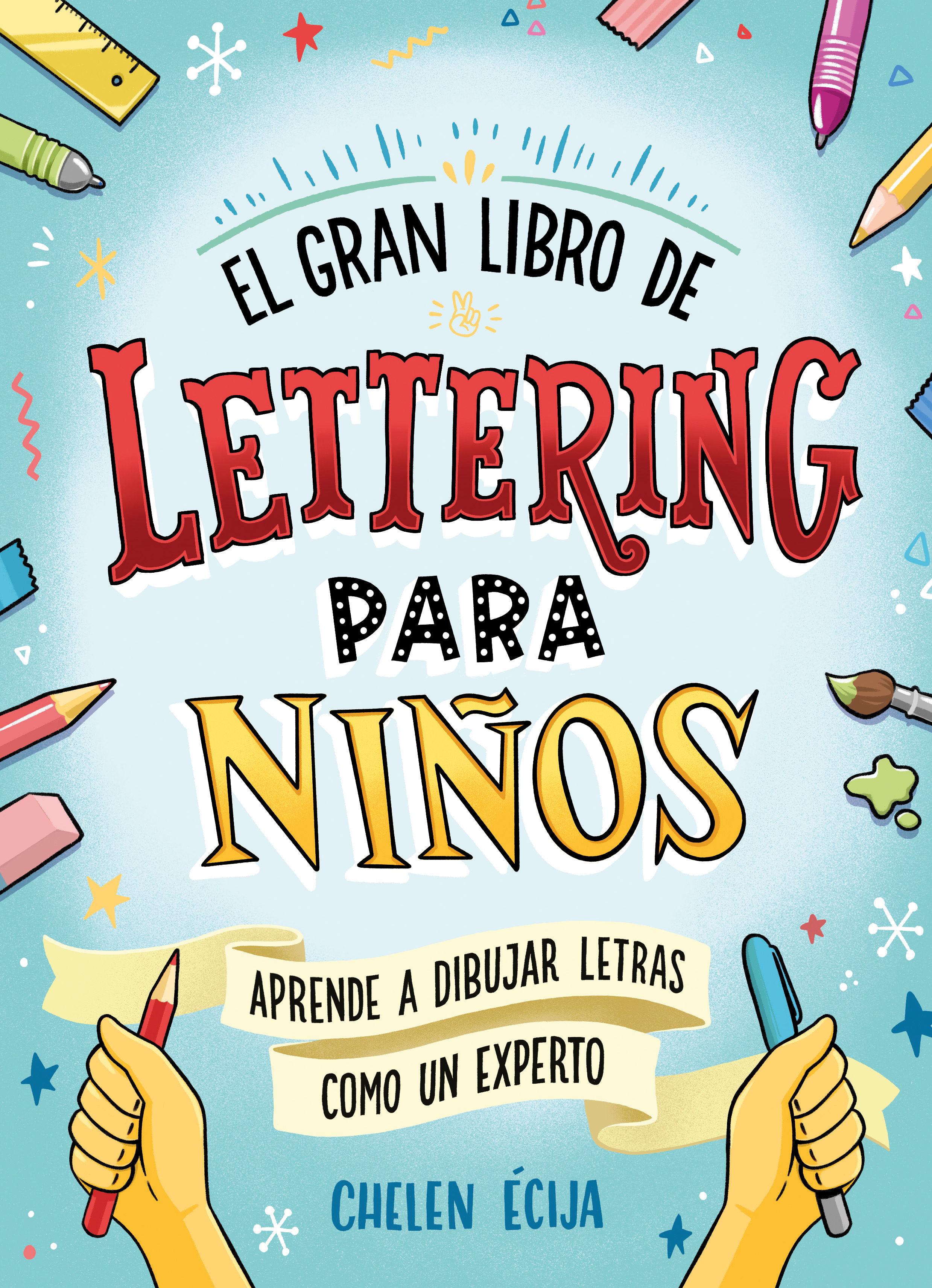 GRAN LIBRO DE LETTERING PARA NIÑOS