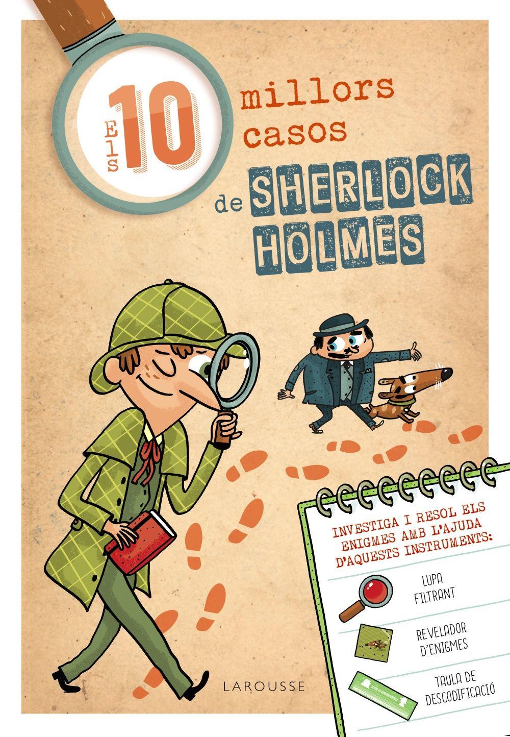 DEU MILLORS CASOS DE SHERLOCK HOLMES