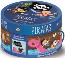 PIRATAS LIBRO + PUZLE GIGANTE