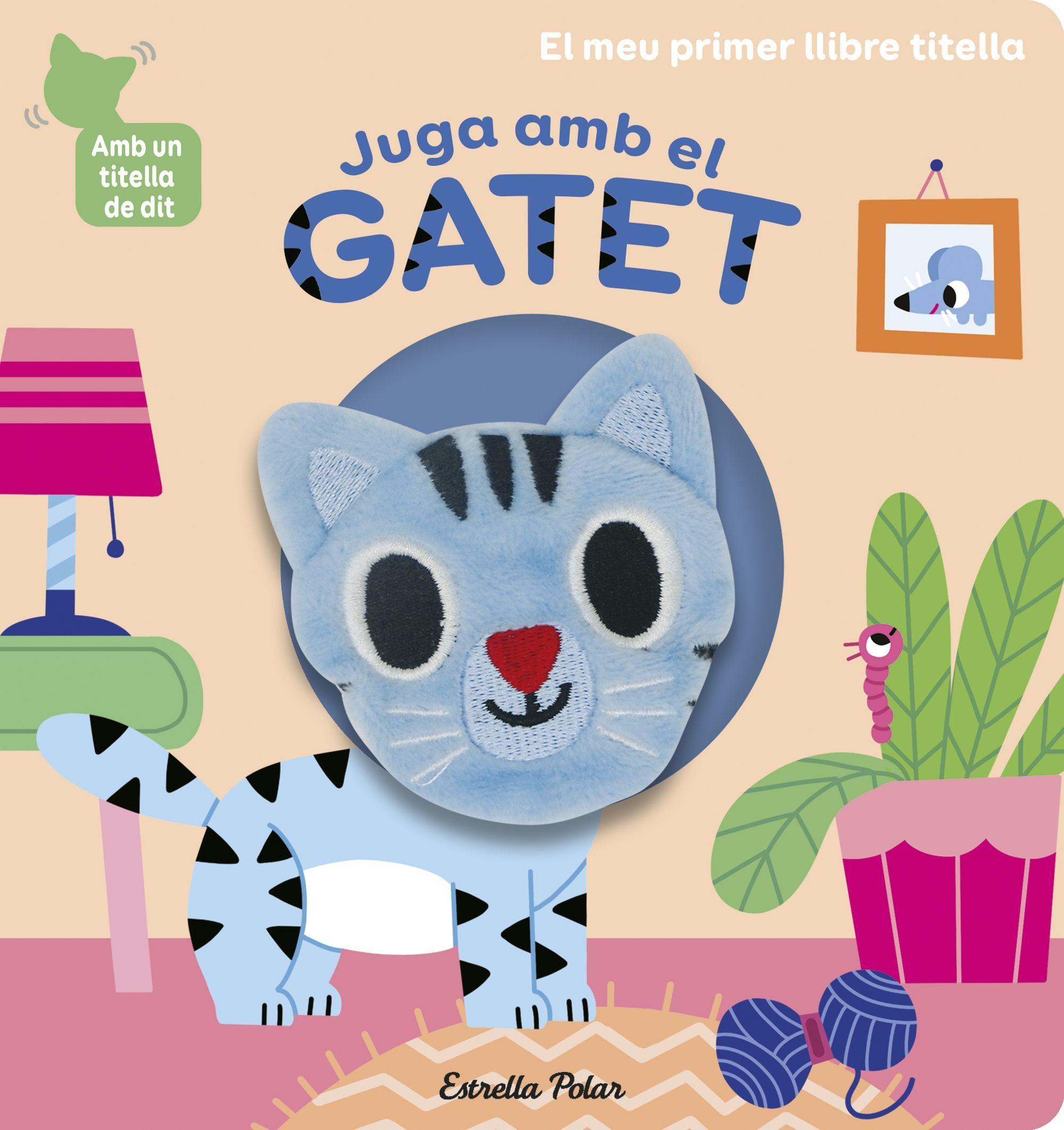 JUGA AMB EL GATET LLIBRE TITELLA