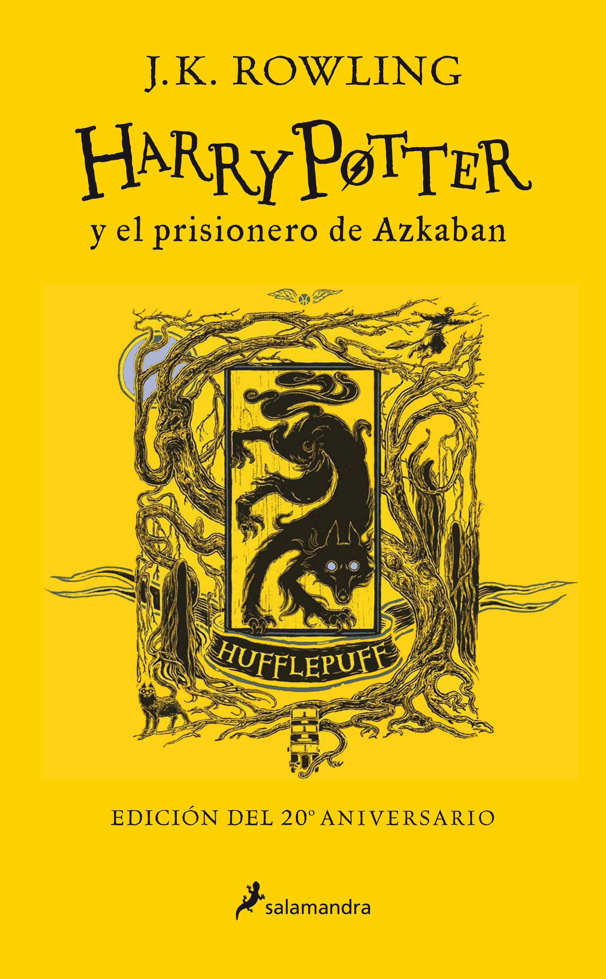 HARRY POTTER Y EL PRISIONERO DE AZKABAN HUFFLEPUF