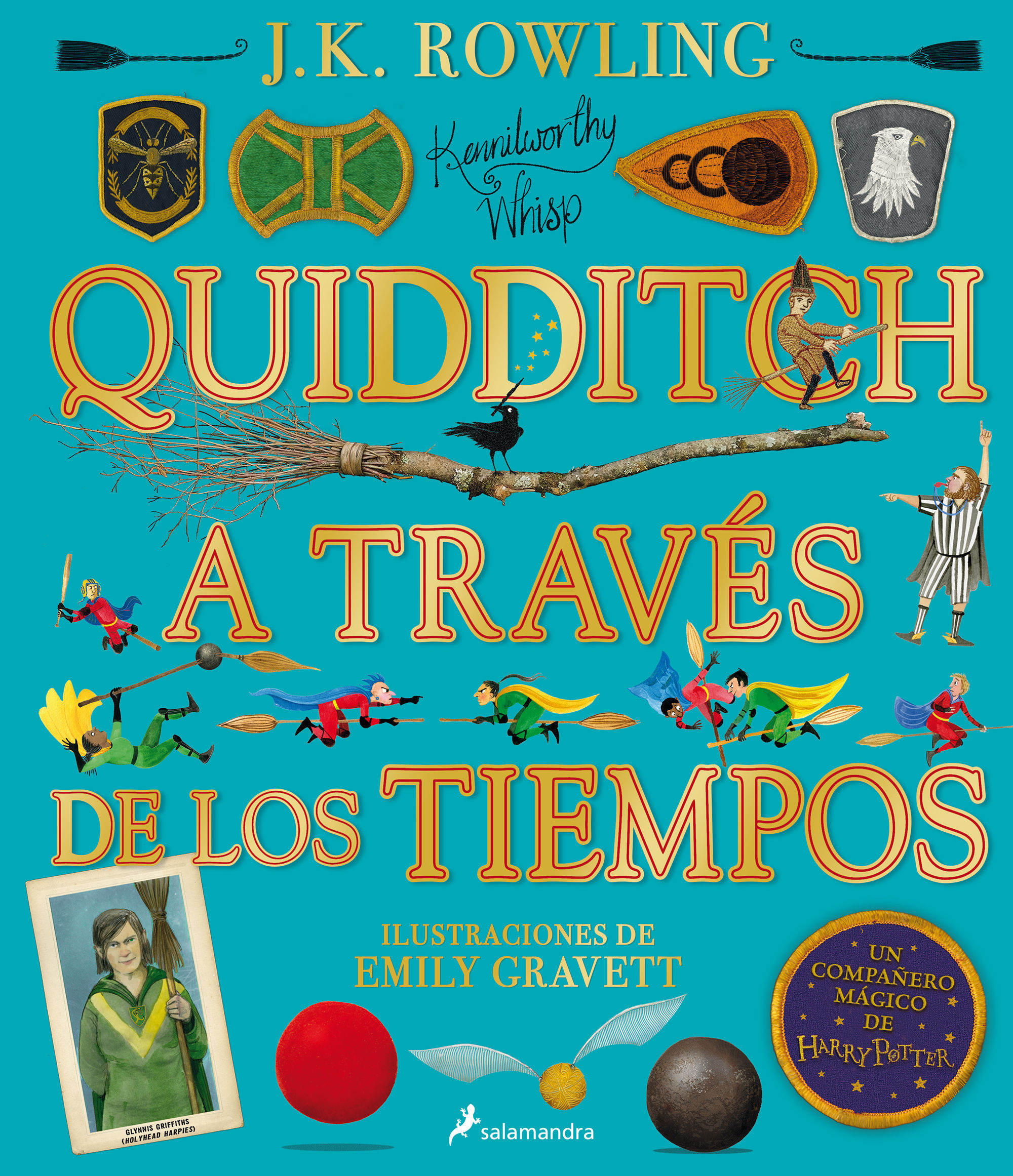 QUIDDITCH A TRAVES DE LOS TIEMPOS ILUSTRADO