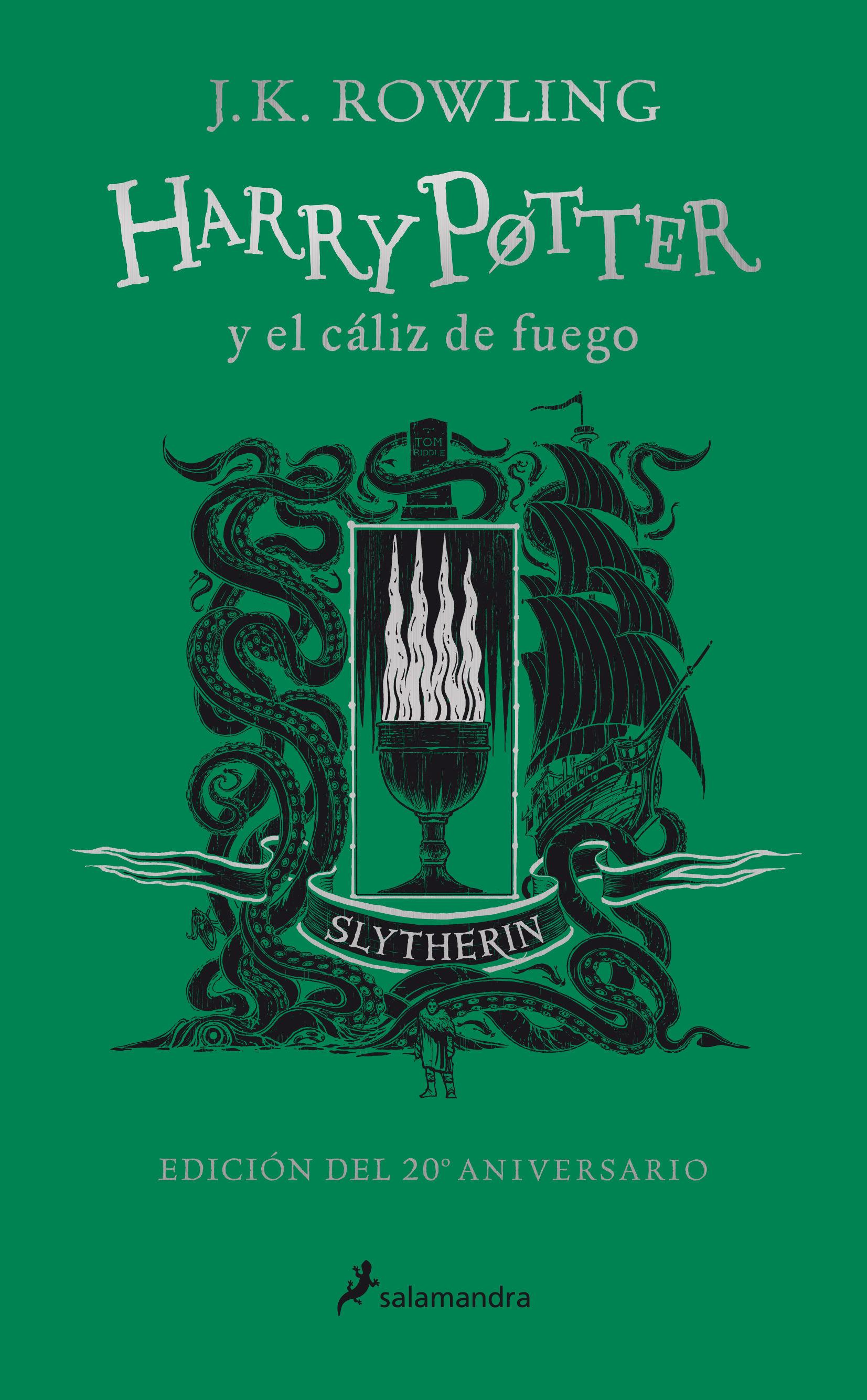 HARRY POTTER Y EL CÁLIZ DE FUEGO 4 SLYTHERIN