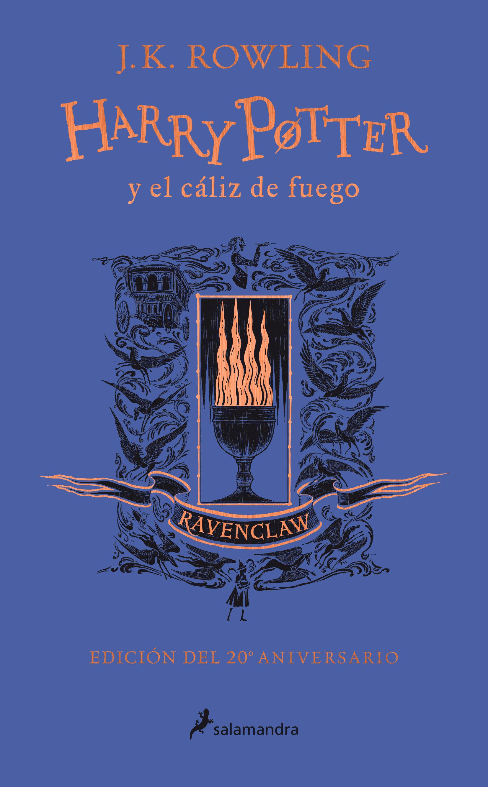 HARRY POTTER Y EL CÁLIZ DE FUEGO 4 RAVENCLAW