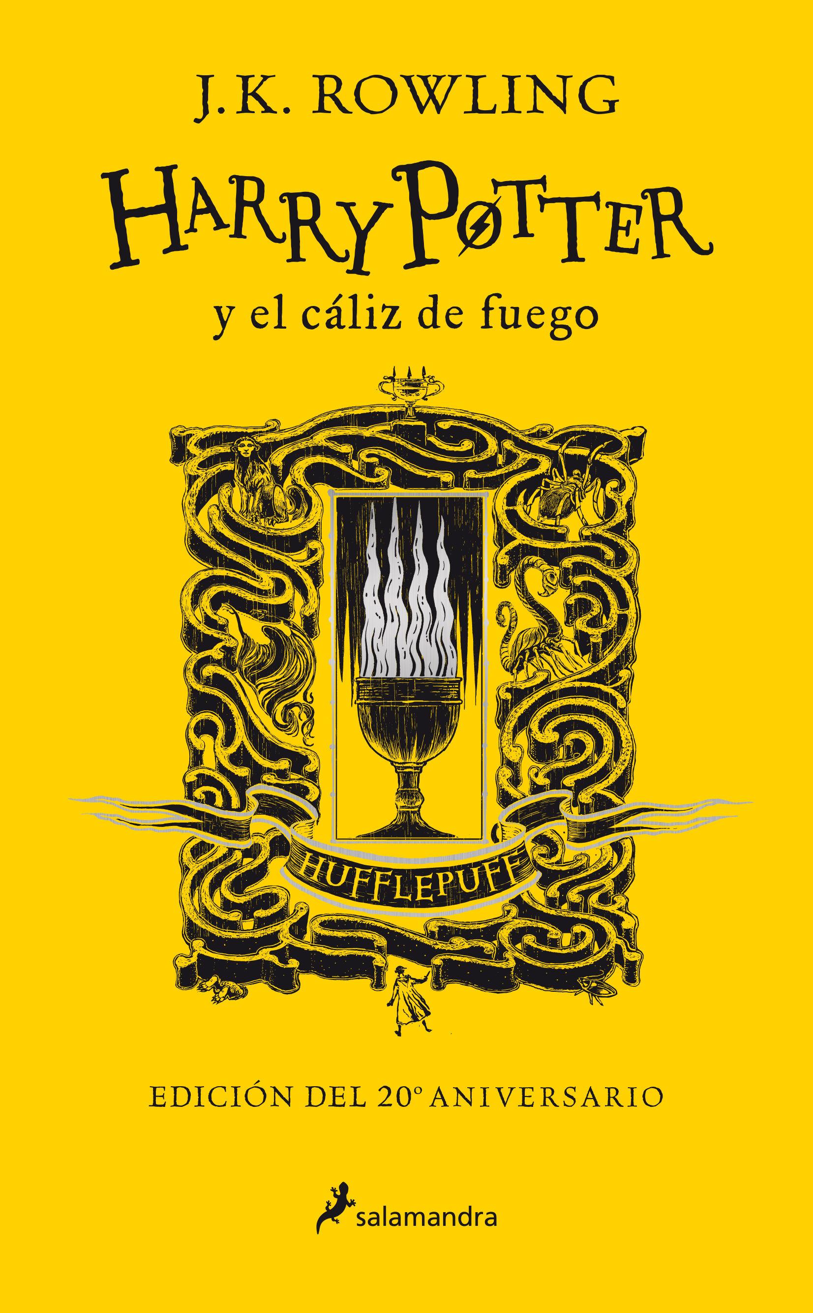 HARRY POTTER Y EL CÁLIZ DE FUEGO 4 HUFFLEPUFF