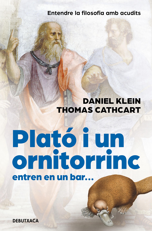 PLATO I UN ORNITORINC ENTREN EN UN BAR