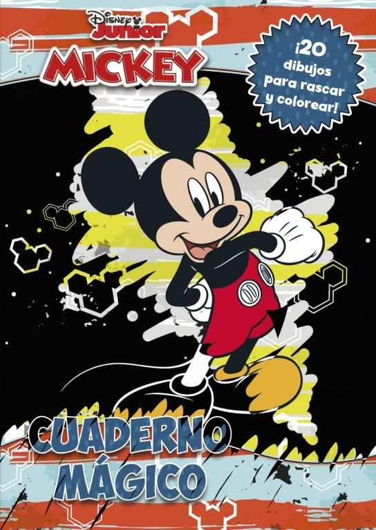 MICKEY CUADERNO MAGICO