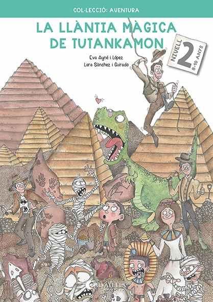 LLANTIA MAGICA DE TUTANKAMON 2 8 10 ANYS LA