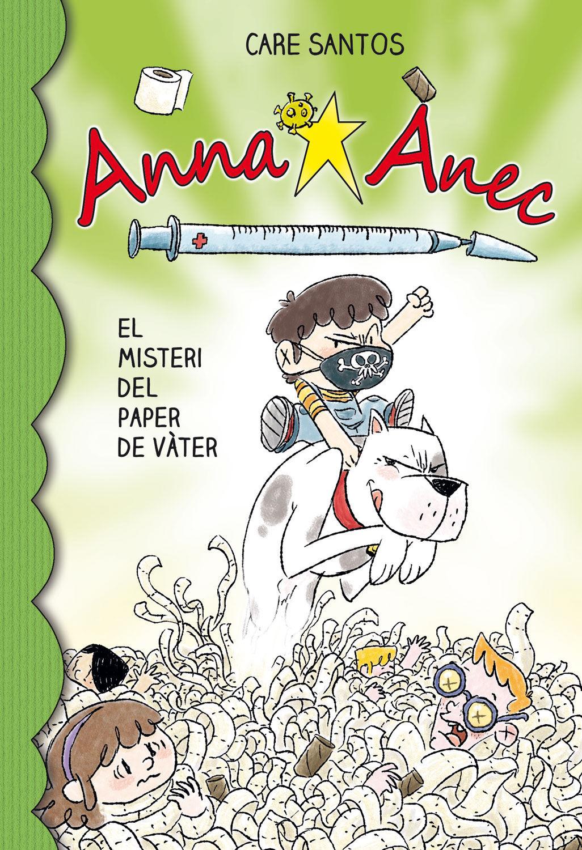 ANNA ANEC 12 EL MISTERI DEL PAPER DE VATER