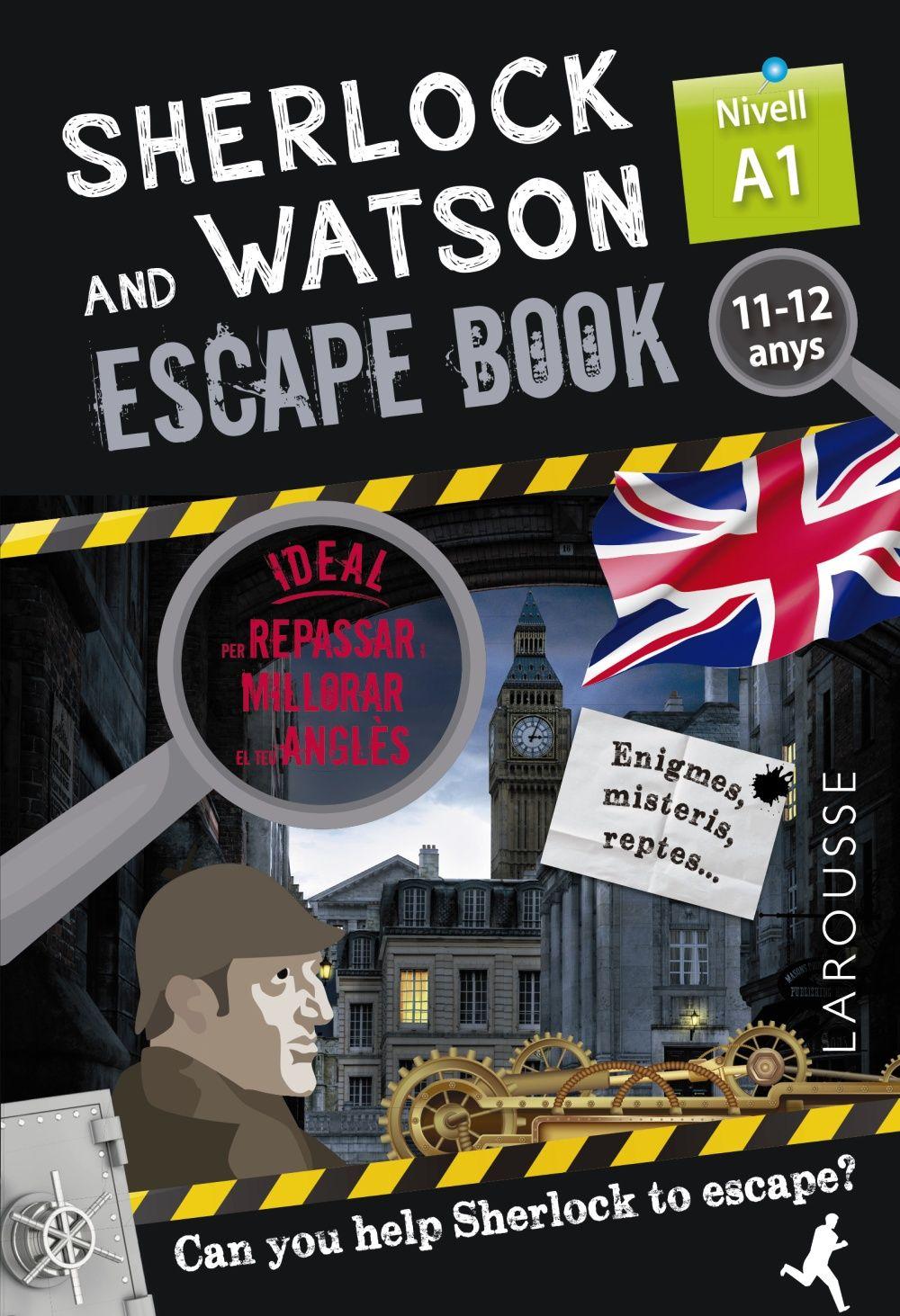 SHERLOCK & WATSON ESCAPE BOOK PER REPASSAR ANGLES 11 12 ANYS