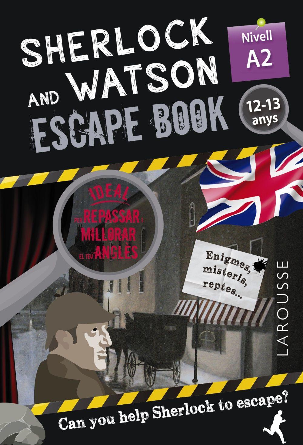SHERLOCK & WATSON ESCAPE BOOK PER REPASSAR ANGLES 12 13 ANYS