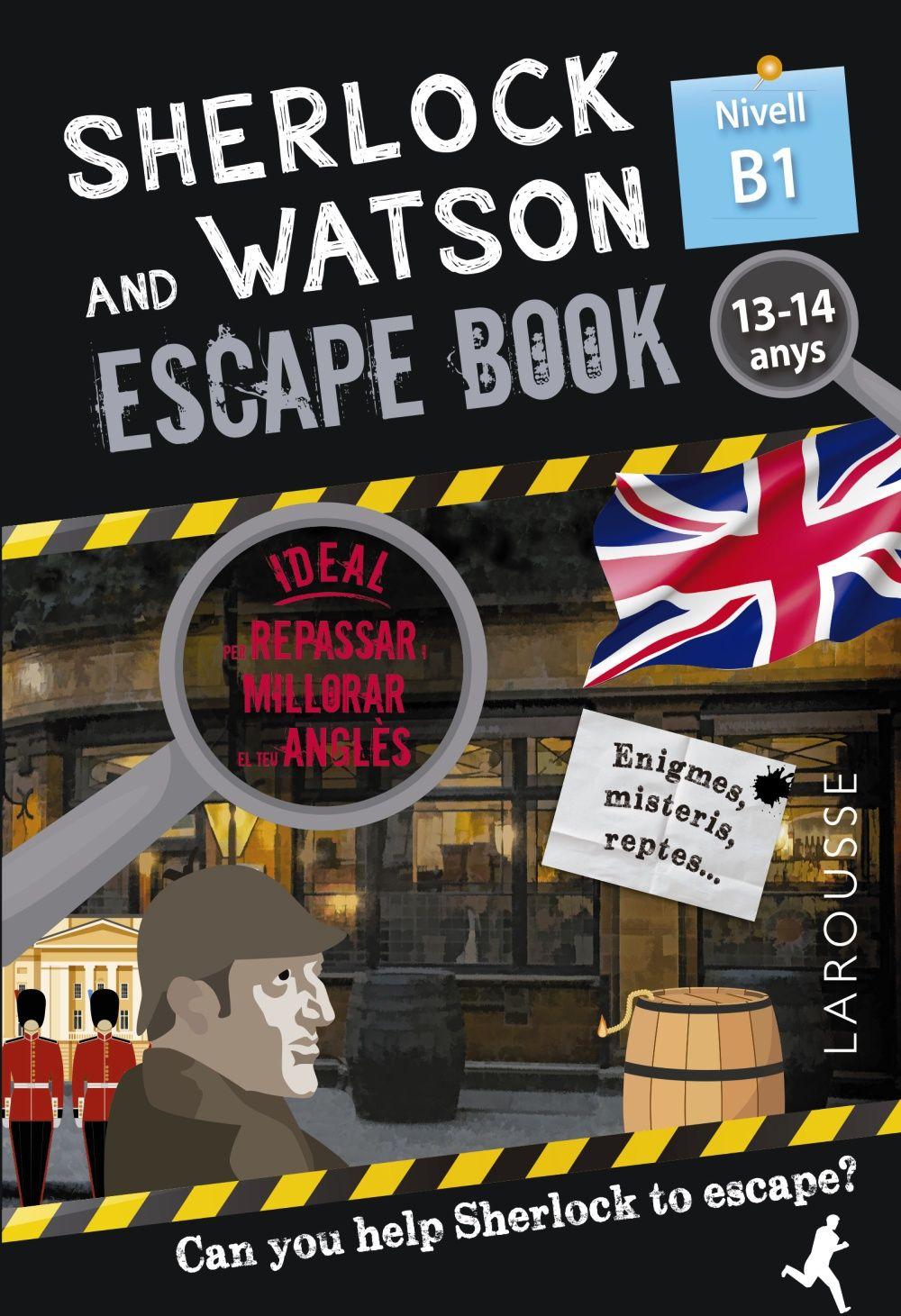 SHERLOCK & WATSON ESCAPE BOOK PER REPASSAR ANGLES 13 14 ANYS