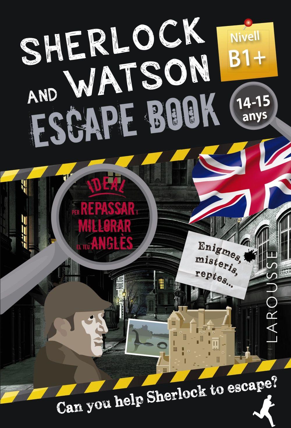 SHERLOCK & WATSON ESCAPE BOOK PER REPASSAR ANGLES 14 15 ANYS