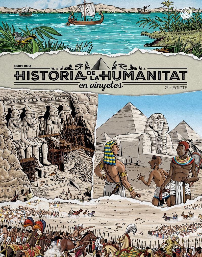 HISTORIA DE LA HUMANITA EN VINYETES VOL 2 EGIPTE