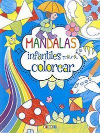 MANDALAS INFANTILES PARA COLOREAR 1 (AZUL)
