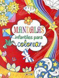 MANDALAS INFANTILES PARA COLOREAR 2 (ROJO)