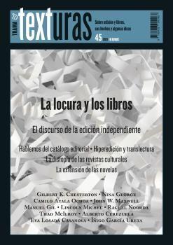 TEXTURAS 45 LA LOCURA Y LOS LIBROS