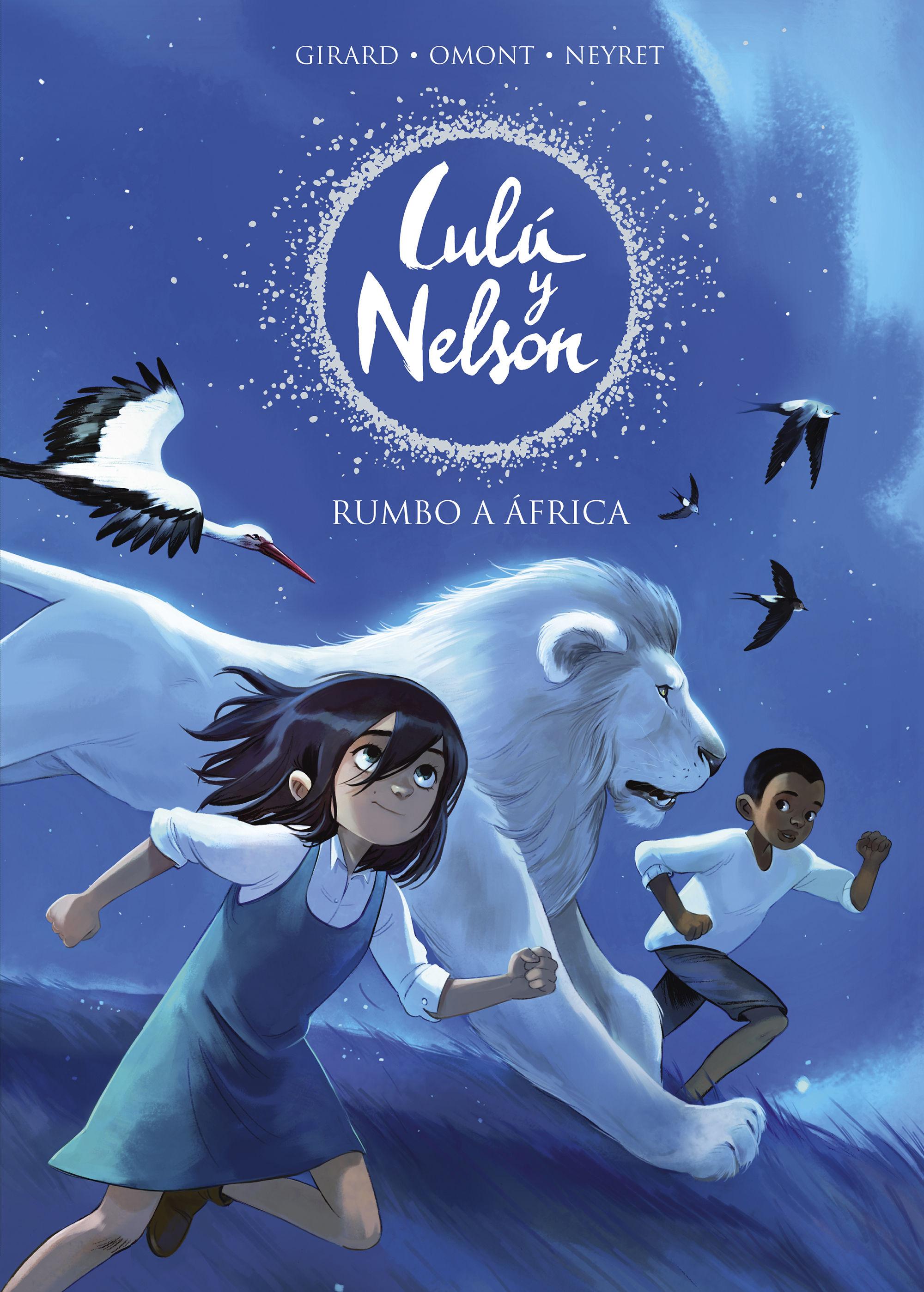 RUMBO A AFRICA LULU Y NELSON