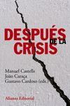 DESPUÉS DE LA CRISIS