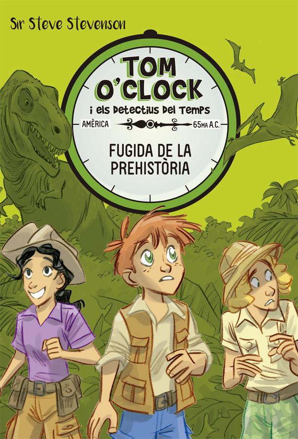 TOM O CLOCK 8 FUGIDA DE A PREHISTORIA