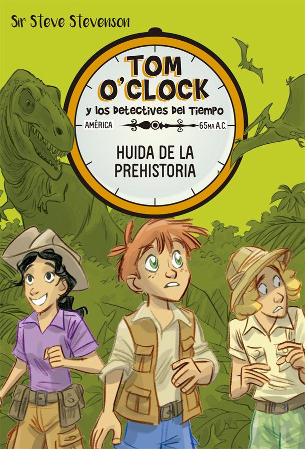 TOM OCLOCK 8 HUIDA DE LA PREHISTORIA