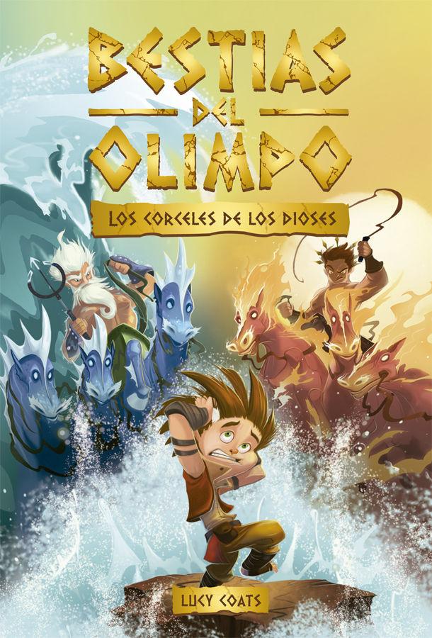 BESTIAS DEL OLIMPO 3 LOS CORCELES DE LOS DIOSES