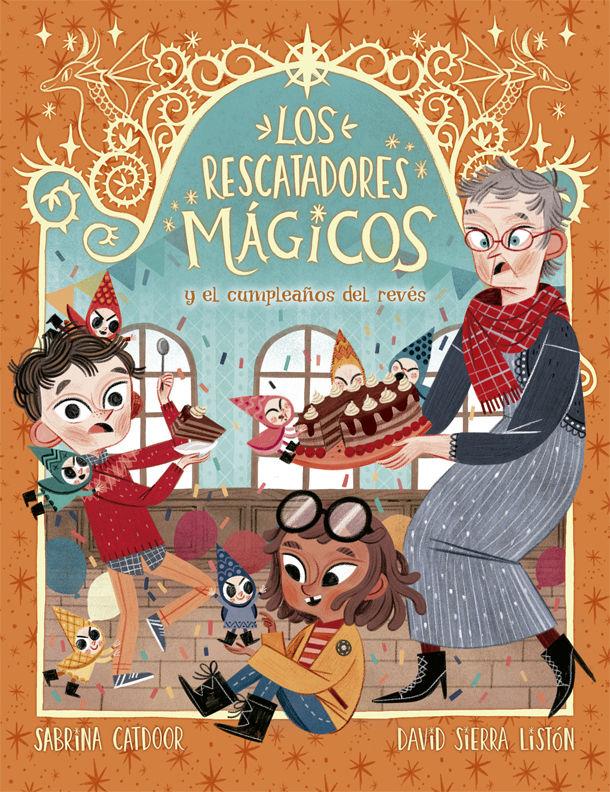 RESCATADORES MAGICOS 2 Y EL CUMPLEAÑOS DEL REVES LOS