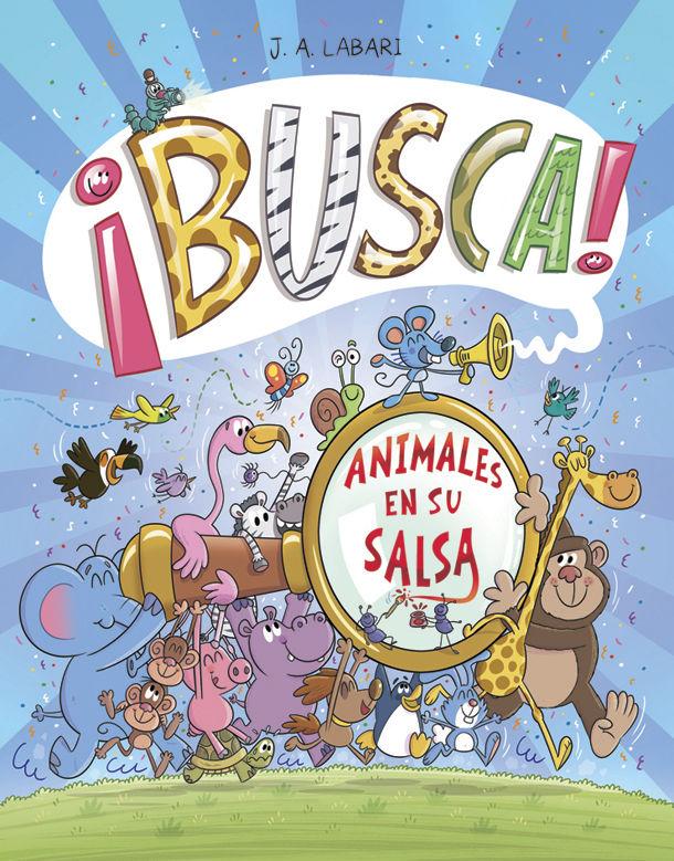 BUSCA ANIMALES EN SU SALSA