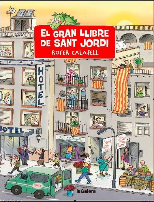 GRAN LLIBRE DE SANT JORDI EL