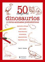 50 DIBUJOS DE DINOSAURIOS Y OTROS ANIMALES PREHISTORICOS