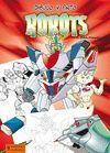 ROBOTS -DIBUJO Y PINTO