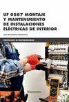 UF 0887 MONTAJE Y MANTENIMIENTO DE INSTALACIONES ELECTRICAS DE INTERIOR