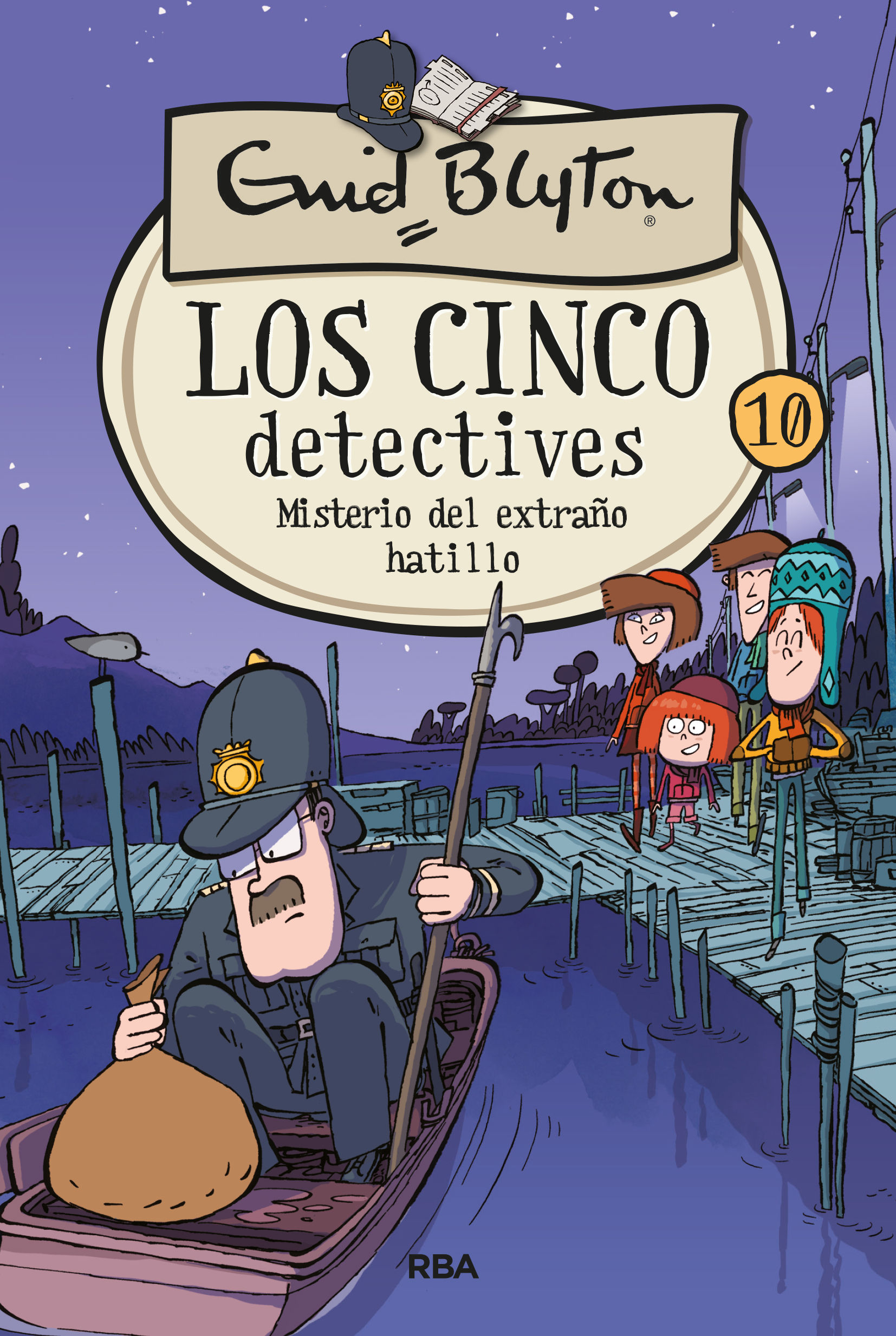 CINCO DETECTIVES 10.MIST.EXTRAÑO HATILLO