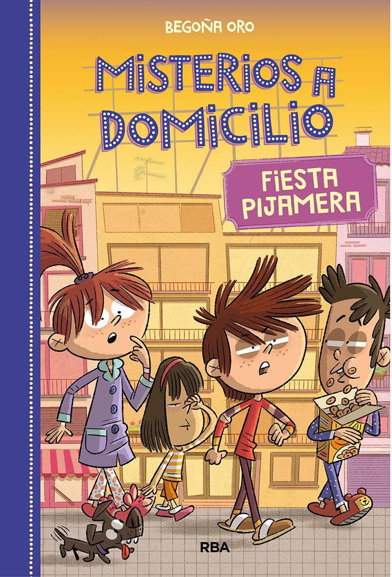 MISTERIOS A DOMICILIO 7 FIESTA PIJAMERA
