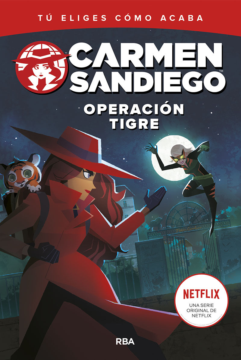 CARMEN SANDIEGO 3 OPERACION TIGRE