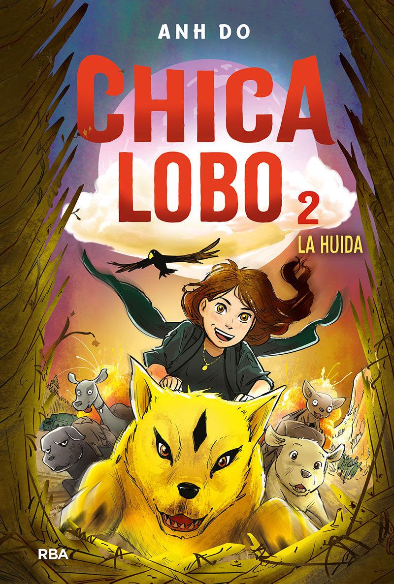 CHICA LOBO 2 LA HUIDA