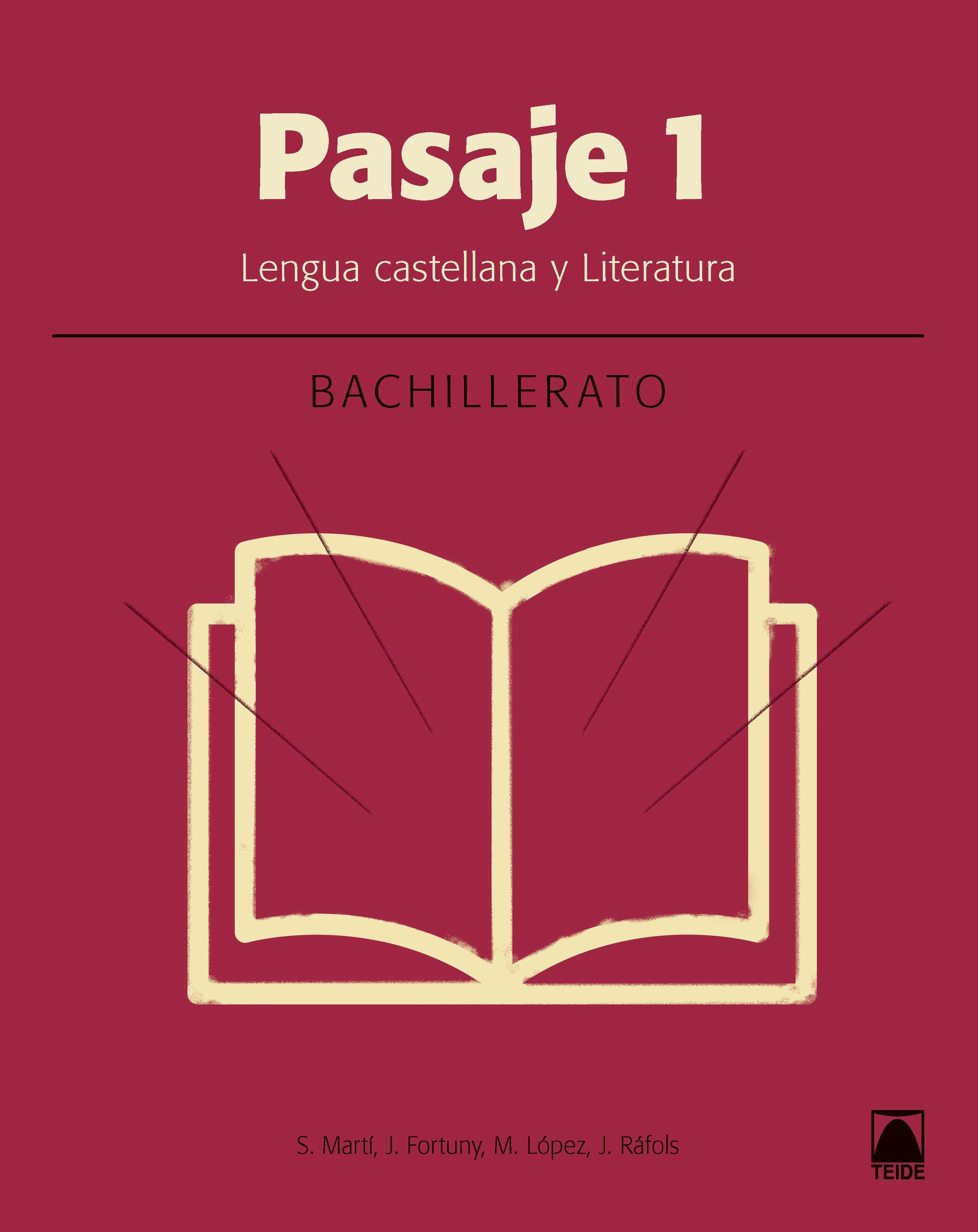 PASAJE 1 LITERATURA BACHILLERATO