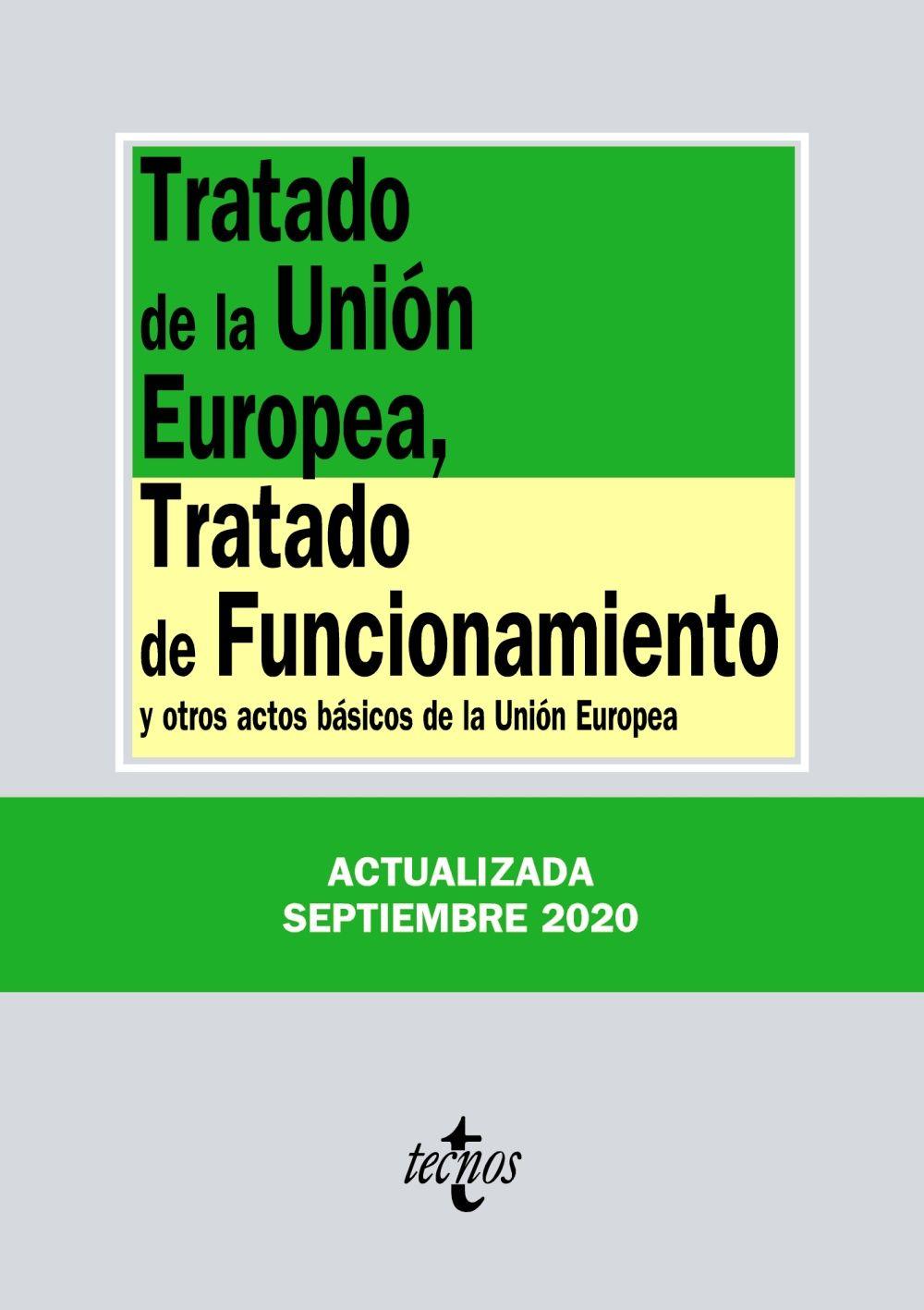 TRATADO DE LA UNIÓN EUROPEA