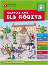 VACANCES AMB ELS ROBITS 5+ SOLUCIONARI