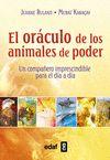 ORACULO DE LOS ANIMALES DE PODER,EL