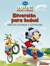 CASA DE MICKEY MOUSE DIVERSION PARA TODOS LIBRO DE COLOREAR Y ACTIVIDADES LA