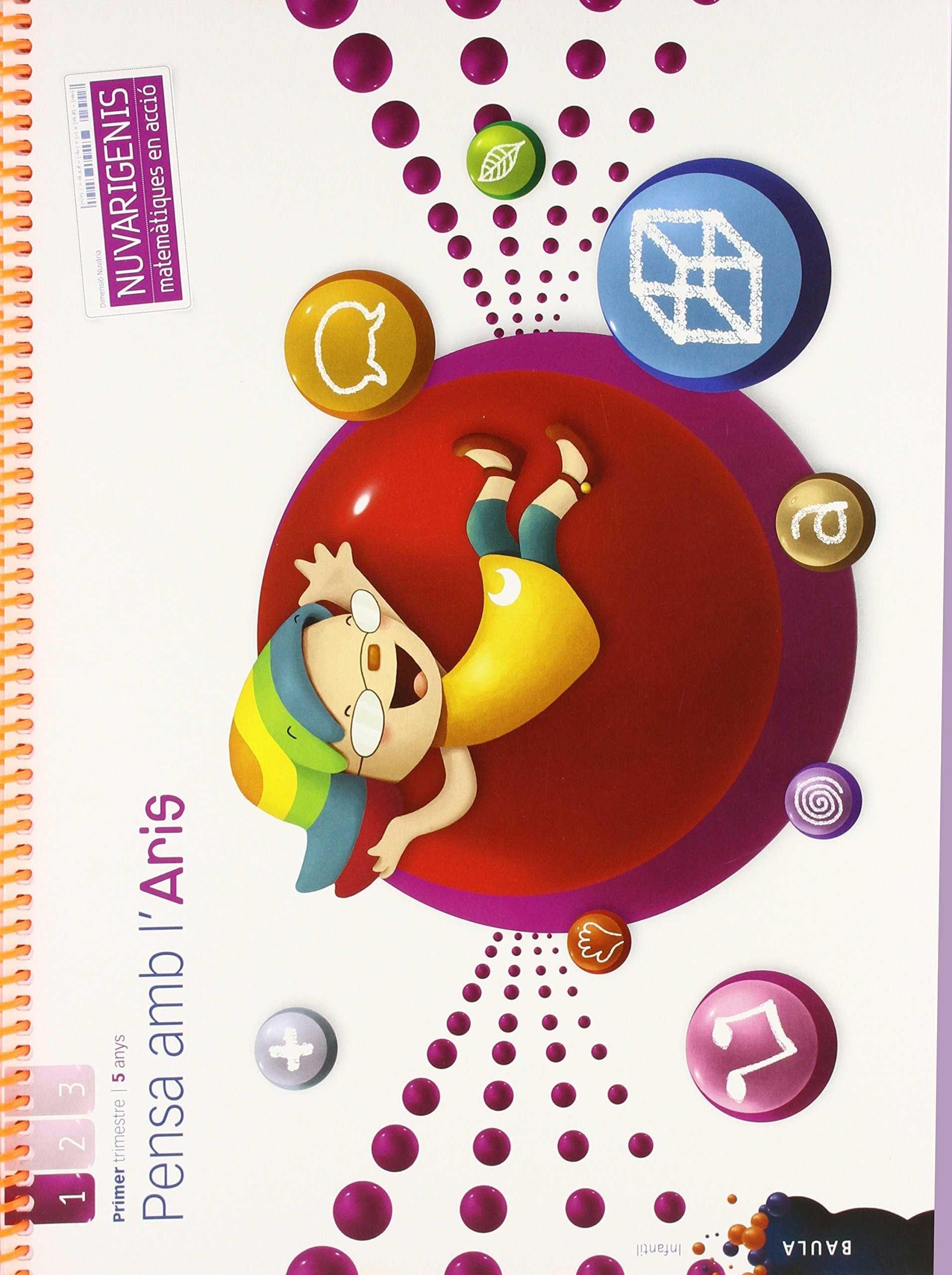 PENSA AMB L'ARIS 5 ANYS 1R TRIMESTRE NUVARIGENIS INFANTIL