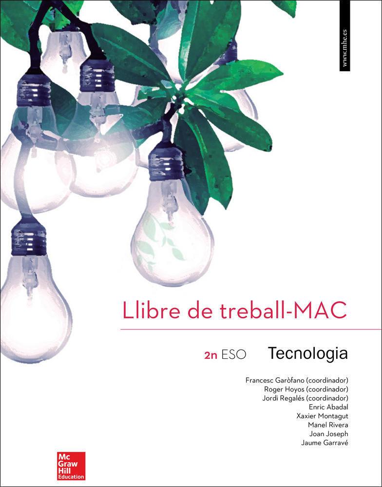 CUTX TECNOLOGIA 2 ESO CATALUNYA. LLIBRE DE TREBALL.