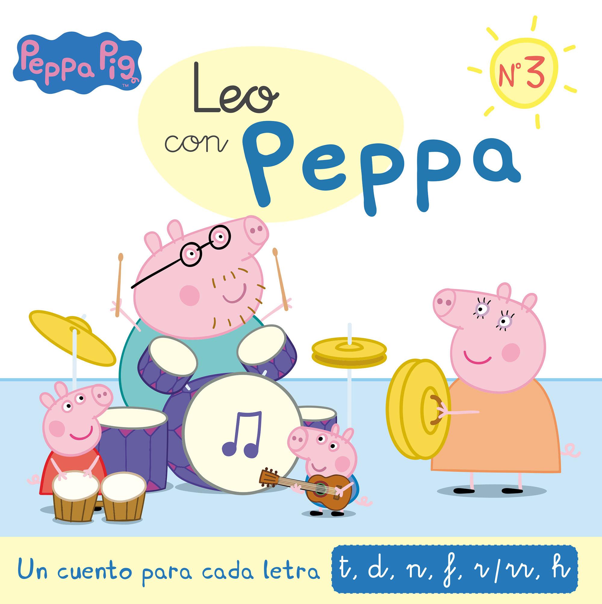 LEO CON PEPPA PIG 3 LETRAS T D N F RR H