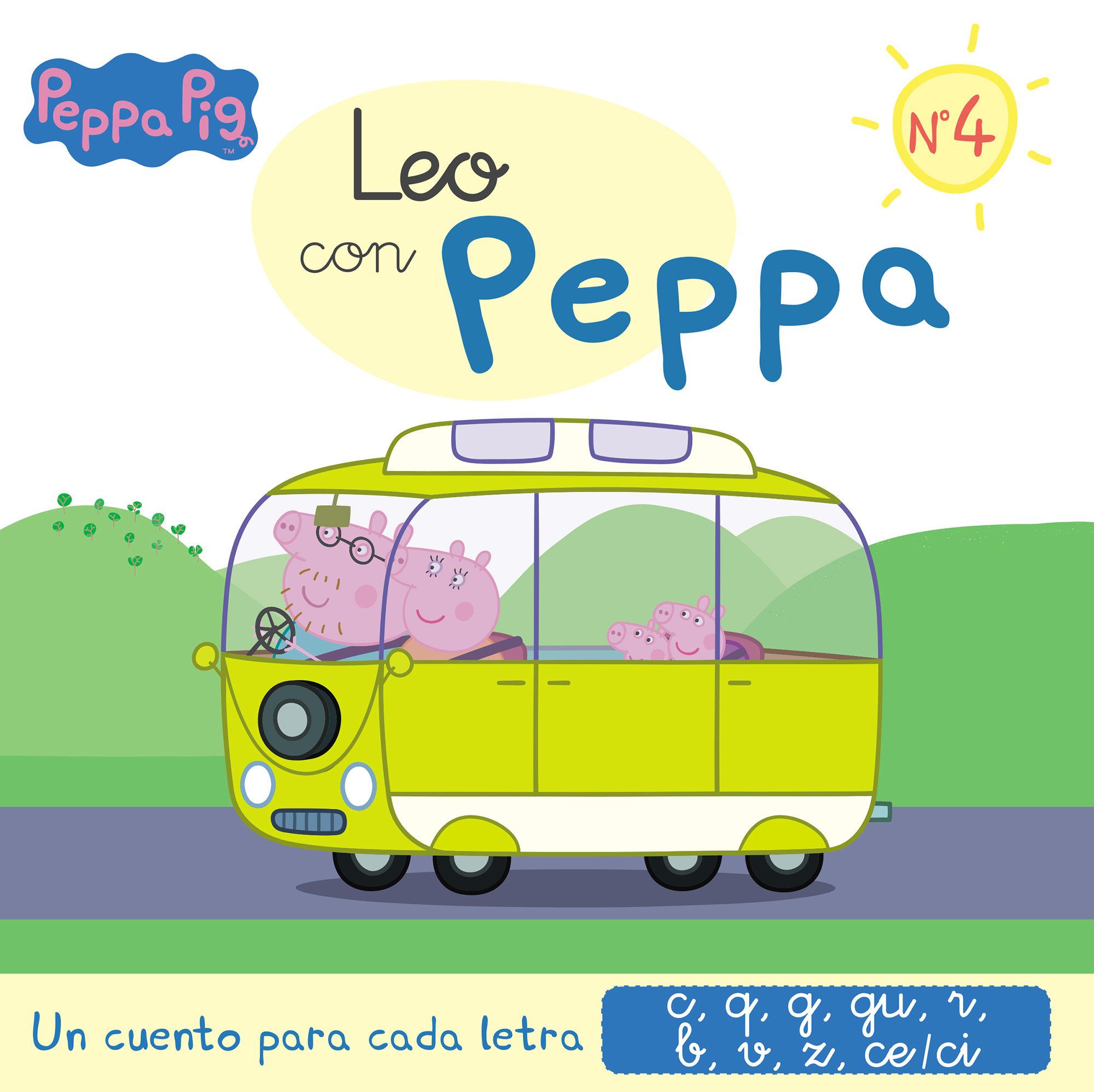 LEO CON PEPPA PIG 4 LETRAS C Q G R B V Z