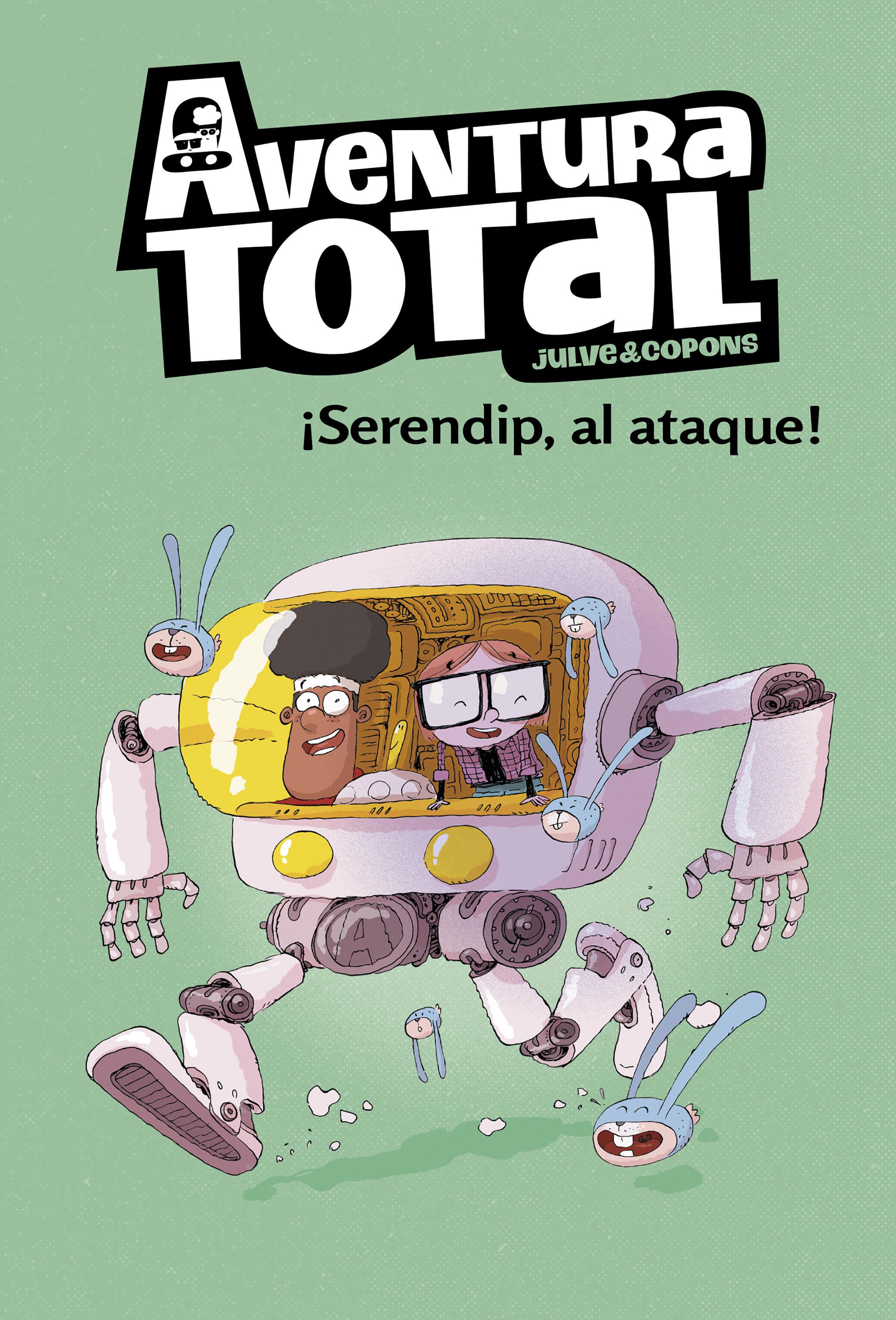 AVENTURA TOTAL 3 SERENDIP AL ATAQUE