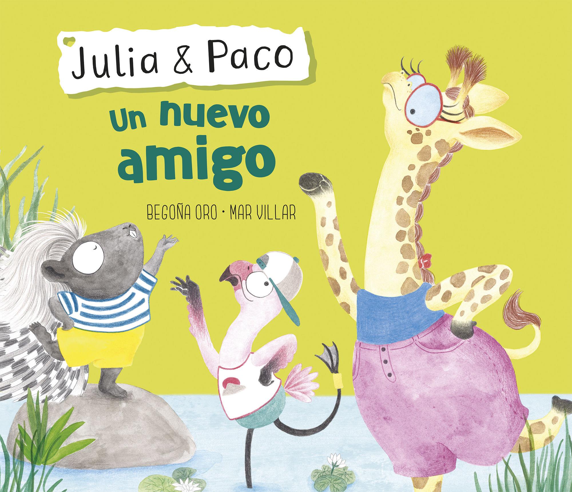UN NUEVO AMIGO (JULIA & PACO)