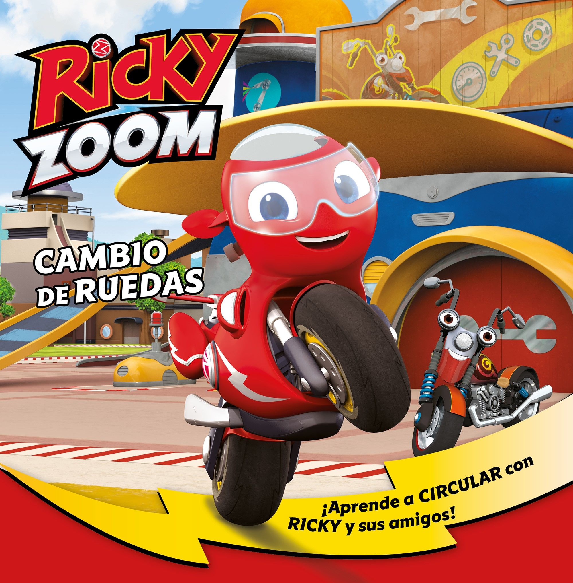 RICKY ZOOM 3 CAMBIO DE RUEDAS
