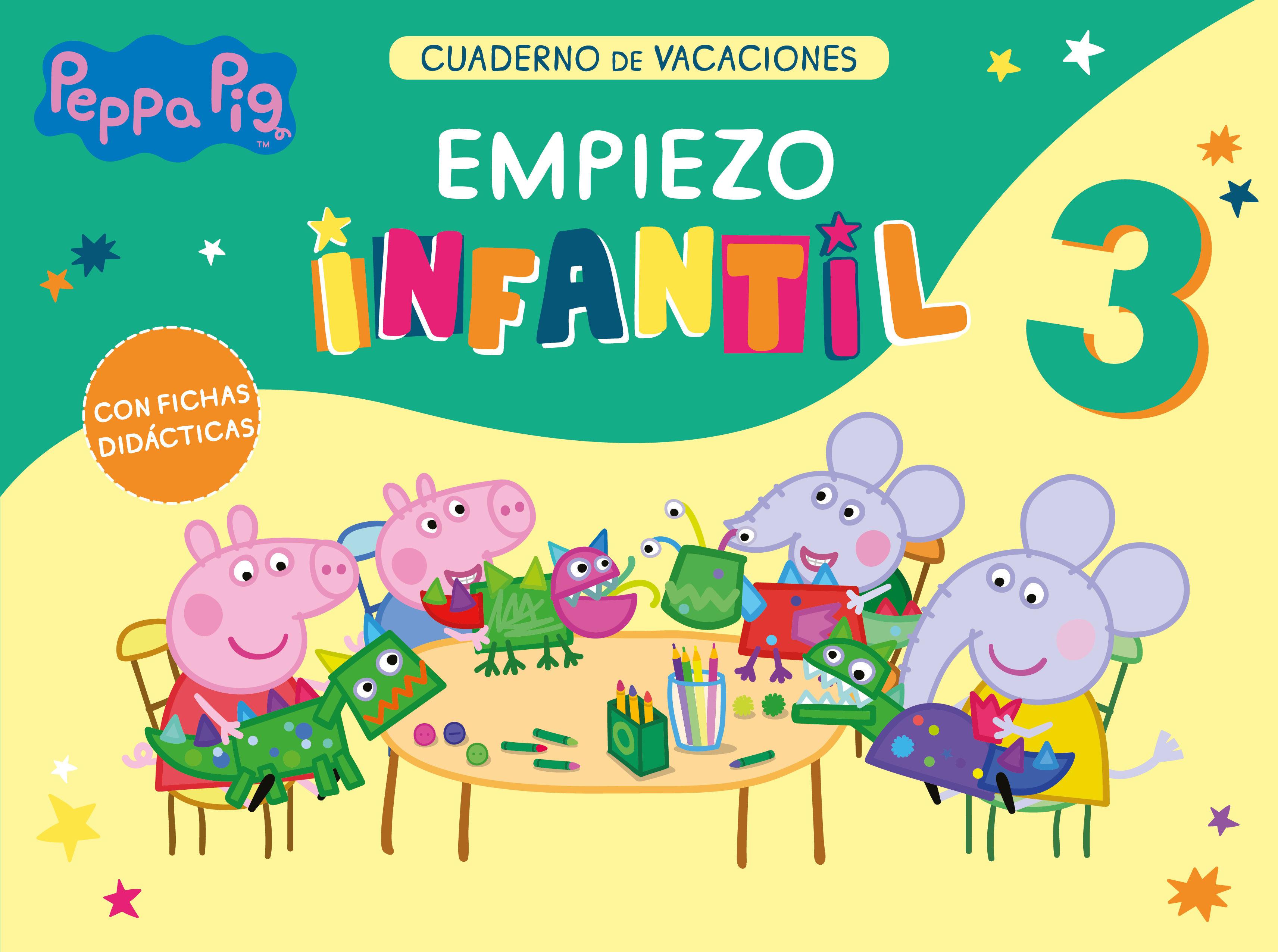 PEPPA PIG. CUADERNO DE VACACIONES